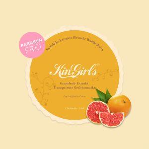 Grapefruit-Extrakt Transparente Gesichtsmaske – Feuchtigkeit & Detox