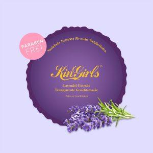 Lavendel-Extrakt Transparente Gesichtsmaske – Intensiv Feuchtigkeit